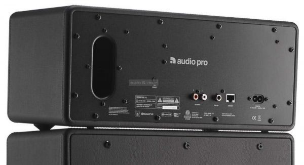 Audio Pro Drumfire hátlap