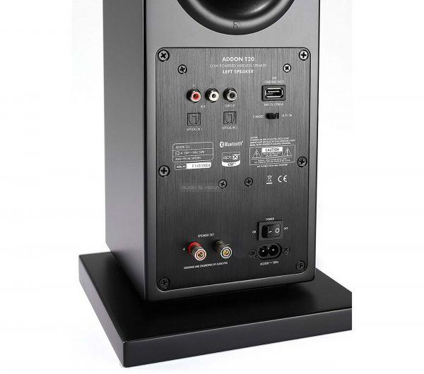 Audio Pro ADDON T20 aktív hangfal hátlap