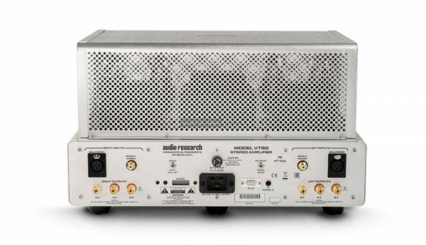 Audio Research VT80SE csöves sztereó erősítő hátlap