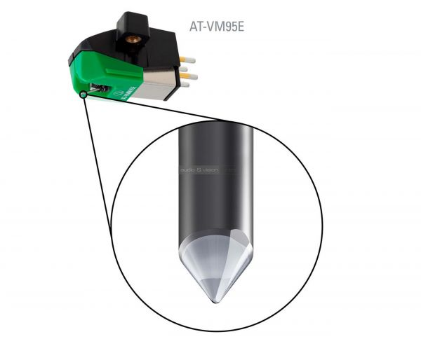 Audio Technica AT-VM95 E hangszedő