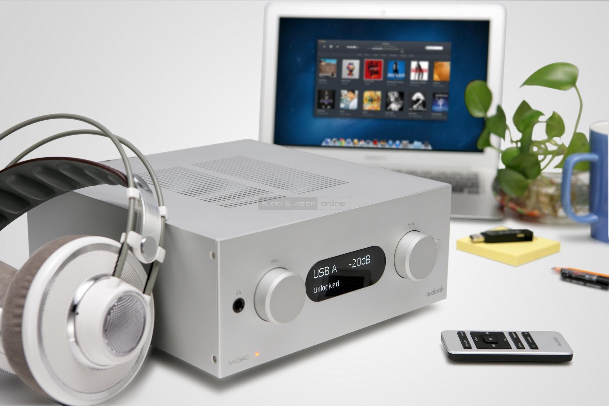 Audiolab M-DAC+ DA konverter és fejhallgató erősítő teszt  2aec3c77c1