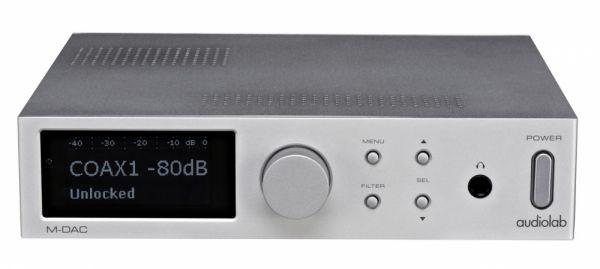 Audiolab M-DAC DA konverter teszt  cc4e8c16cd