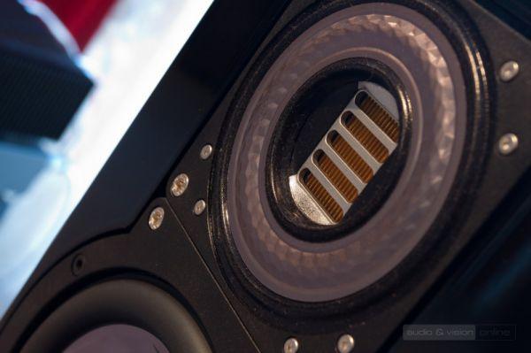 Audiophile Szalon High-End bemutatóterem ELAC JETIII magassugárzó