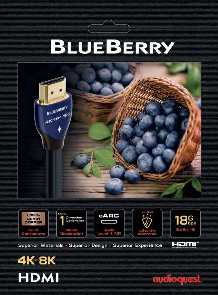 AudioQuest BlueBerry 48 HDMI kábel