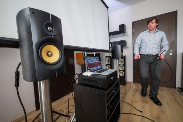 AudioQuest LAN és RCA kábelek demója a szakmai tájékoztatón