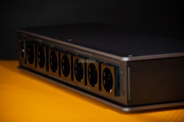 AudioQuest Niagara 1200 tápszűrő hátlap