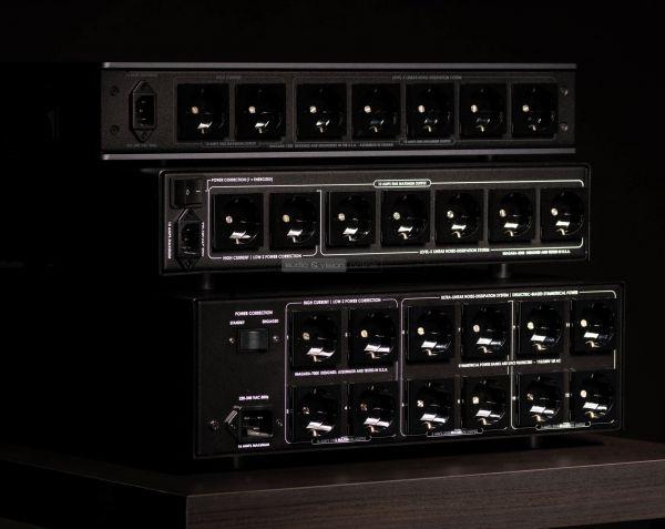 AudioQuest Niagara 1200 3000 7000 tápszűrők hátlap