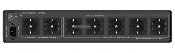 AudioQuest Niagara 3000 tápszűrő hátlap