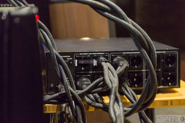 AudioQuest Storm tápkábel teszt az Octogon Audio-ban
