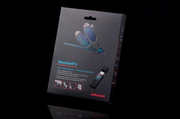 AudioQuest DragonFly USB DAC doboza