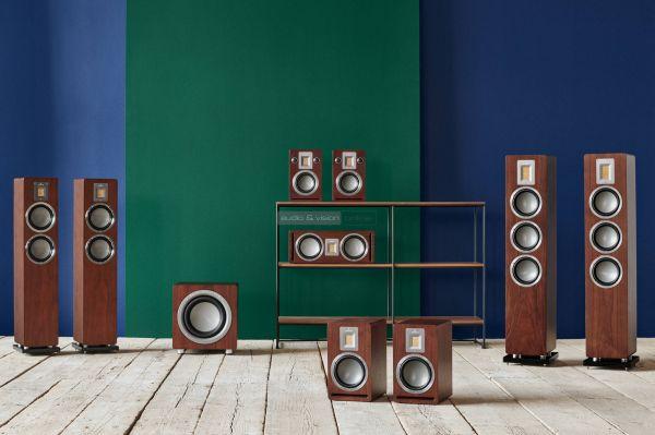 Audiovector QR hangfal sorozat