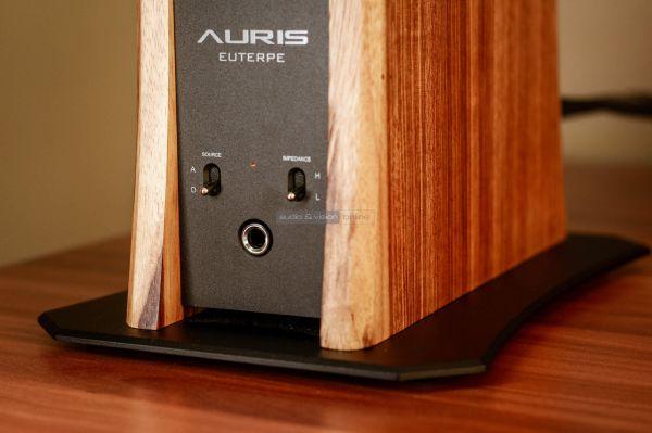 Auris Euterpe csöves fejhallgató erősítő hátlap