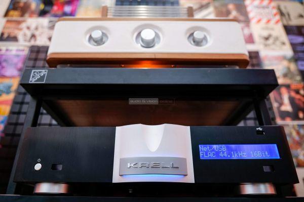 Auris Fortino 6550 csöves sztereó erősítő Krell Vanguard DAC