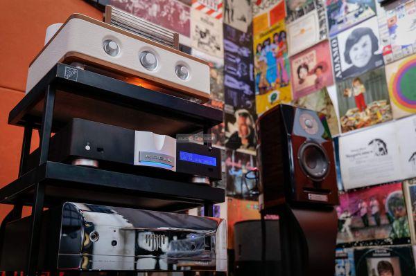 Auris Fortino 6550 csöves sztereó erősítő Krell Vanguard Usher Dancer Mini-X
