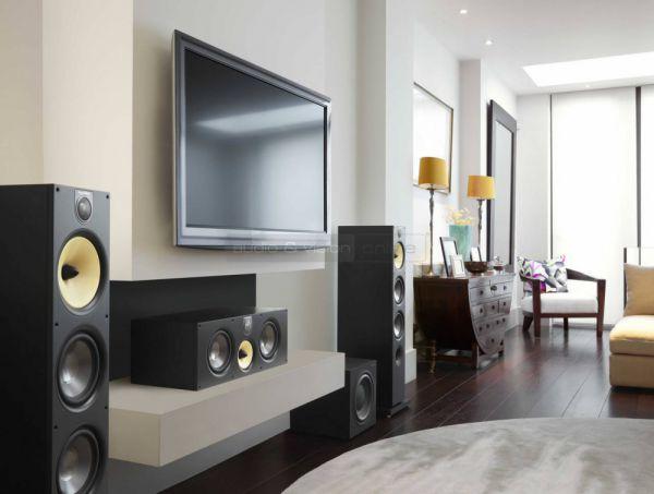 B&W 600 S2 sorozatú házimozi hangfalszett
