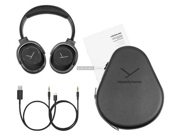 Beyerdynamic Lagoon ANC aktív zajzáras Bluetooth fejhallgató tartozékok
