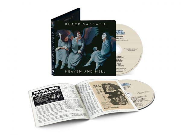 Black Sabbath Heaven and Hell 2 CD