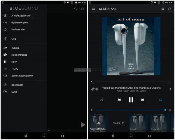 Bluesound NODE 2i BluOS App