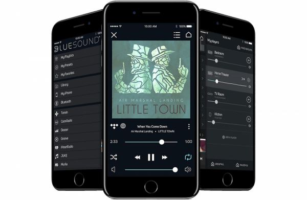 Bluesound PULSE SOUNDBAR App