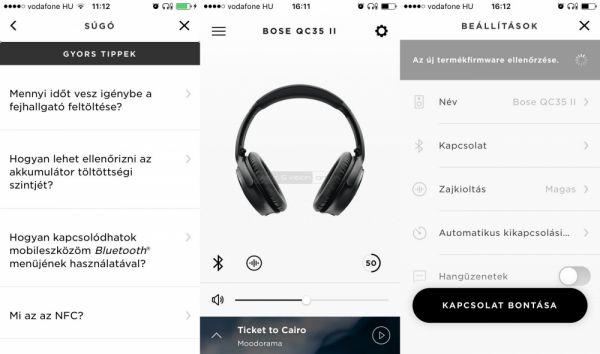 Bose QuietComfort 35 II App