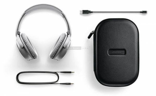Bose QuietComfort 35 aktív zajzáras Bluetooth fejhallgató tartozékok