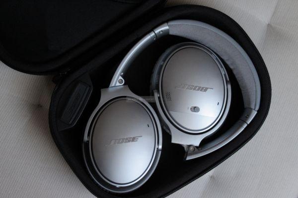 Bose QuietComfort 35 aktív zajzáras Bluetooth fejhallgató tok
