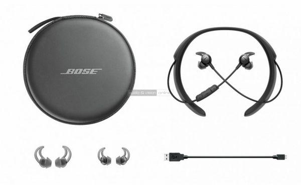 Bose QuietControl 30 aktív zajzáras Bluetooth fülhallgató tartozékok