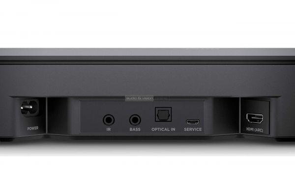 Bose Smart Soundbar 300 soundbar hátlap