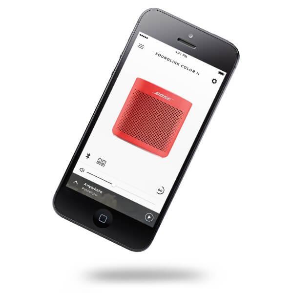 Bose SoundLink Color II Bluetooth hangszóró App