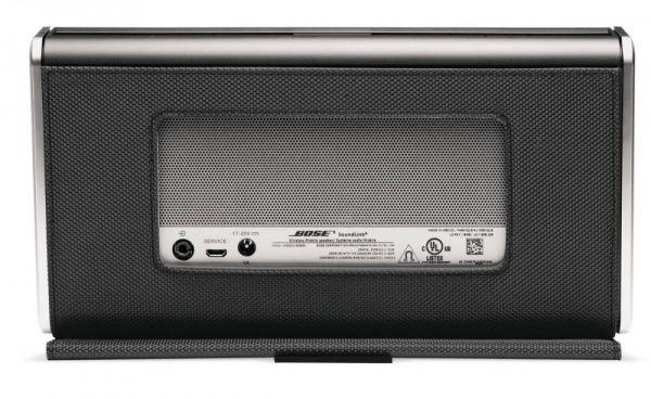 Bose SoundLink II Bluetooth hangrendszer hátlap
