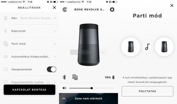 Bose Connect App Revolve