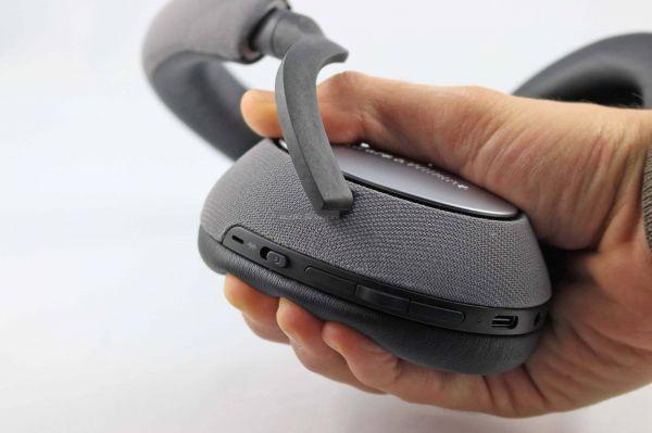 Bowers & Wilkins PX7 aktív zajzáras Bluetooth fejhallgató fejpárna