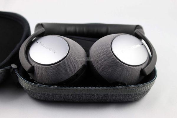 Bowers & Wilkins PX7 aktív zajzáras Bluetooth fejhallgató tok