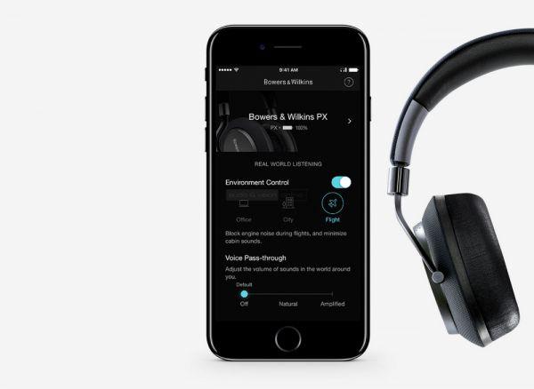 Bowers & Wilkins PX fejhallgató App
