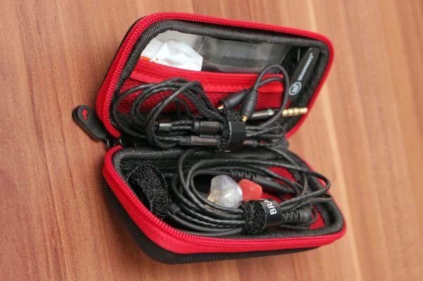 Brainwavz B400 fülhallgató tok