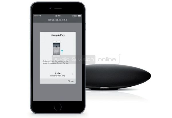 BW Zeppelin Wireless AirPlay