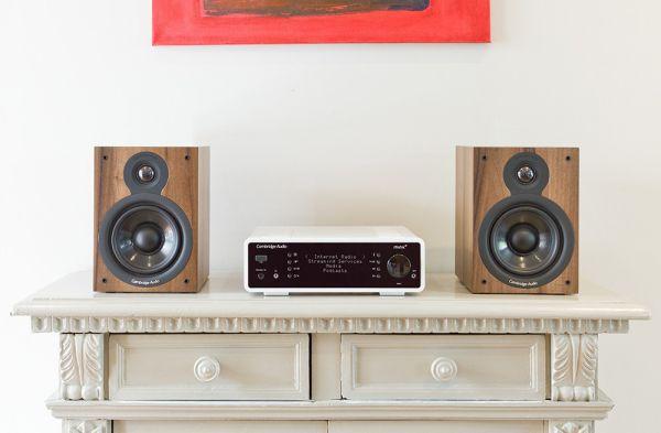 Cambridge Audio Minx Xi erősítővel egybeépített médialejátszó