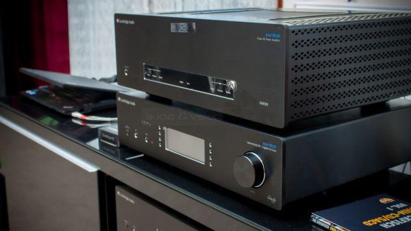 Cambridge Audio 851W sztereó végfok és 851D DAC