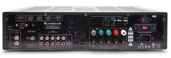 Cambridge Audio Azur 351R házimozi erősítő hátlap