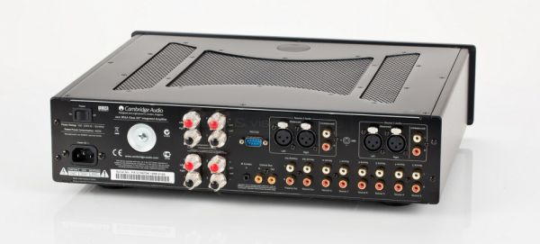 Cambridge Audio 851A integrált sztereó erősítő hátlap