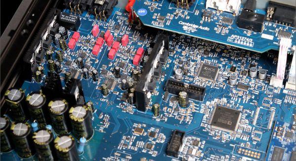 Cambridge Audio 851N hálózati lejátszó belső