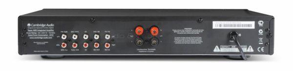Cambridge Audio Topaz AM5 integrált sztereó erősítő hátlap