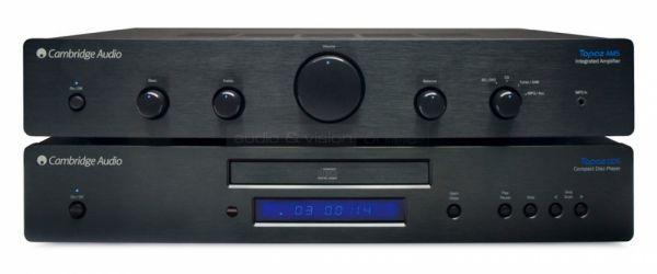 Cambridge Audio Topaz AM5 integrált sztereó erősítő és CD5 CD-lejátszó