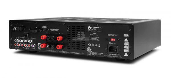 Cambridge Audio AXR85 sztereó rádióerősítő hátlap