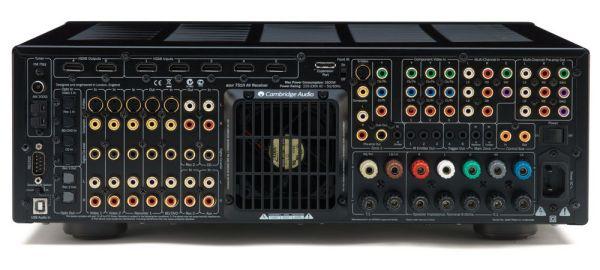Cambridge Audio Azur 751R házimozi erősítő hátlap