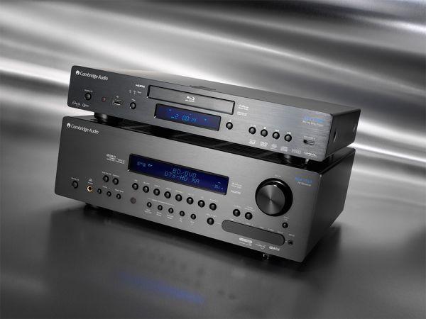 Cambridge Audio Azur 751R házimozi erősítő és 752BD Blu-ray lejátszó