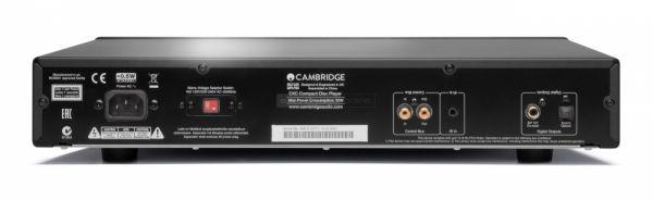 Cambridge Audio CXC CD transzport hátlap