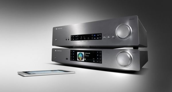 Cambridge Audio CXN hálózati médialejátszó és CXA80 sztereó erősítő