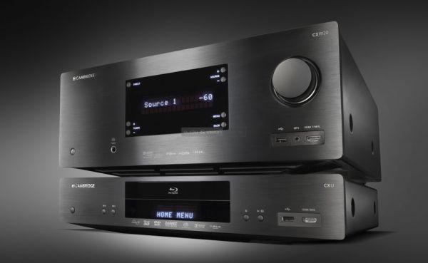 Cambridge Audio CXR120 házimozi erősítő és CXU Blu-ray lejátszó