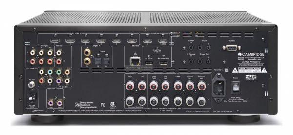 Cambridge Audio CXR120 házimozi erősítő hátlap
